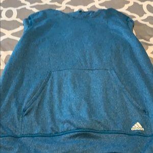 Adidas Blue Hoodie!